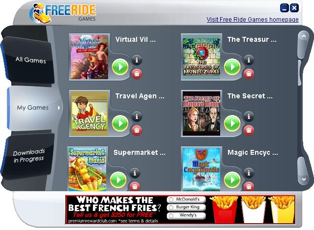 Click to view Free Ride Games Free Game Downloads 5.0.0 screenshot